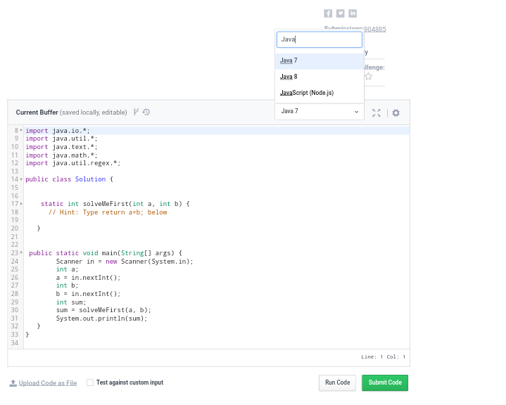How to use JavaScript in HackerRank - Quora