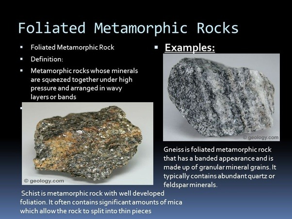 What Is The Difference Between Foliated And Stratified Rocks Quora