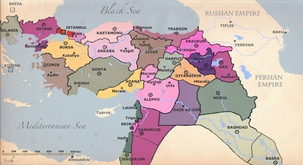 Is the political map in the Middle East being redrawn back to pre