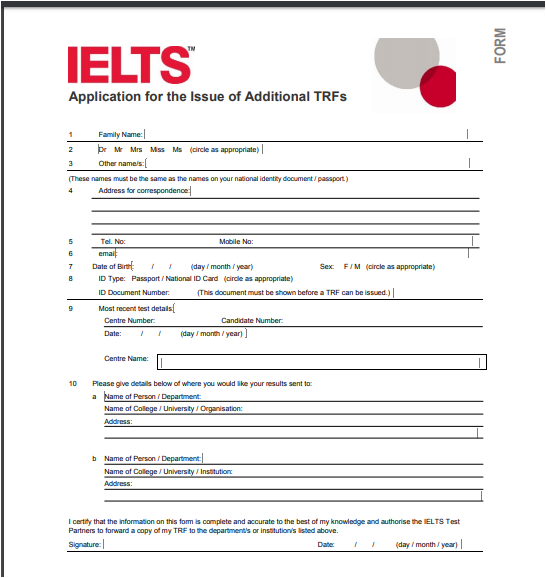 How to electronically report IELTS scores from IDP India to