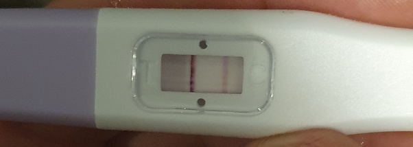 Test bleeding positive pregnancy faint and Faint Positive