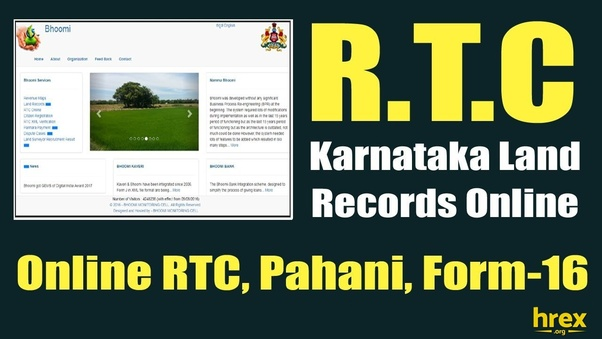 How to check land records online for Karnataka - Quora