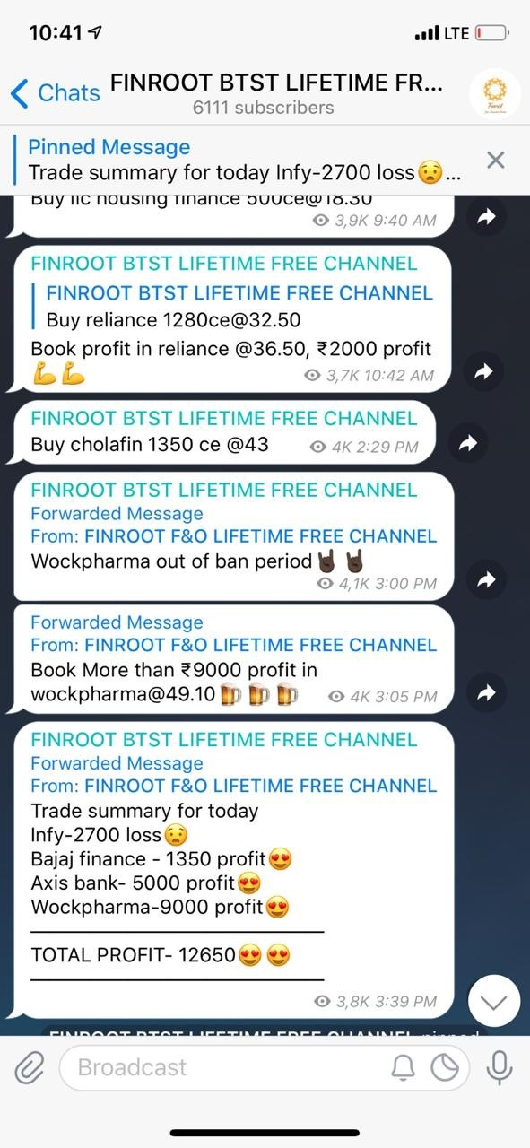 Top telegram channels for stock market. how to join private telegram channel.