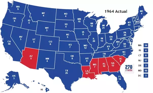When did the South start voting Republican?   Quora
