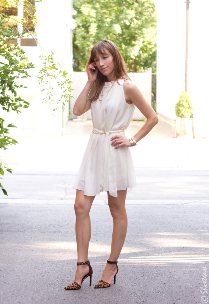 b36362374f2 What heels do you wear with a white dress  - Quora