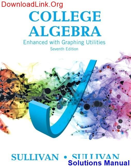 Algebra And Trigonometry Sullivan 8th Edition Pdf