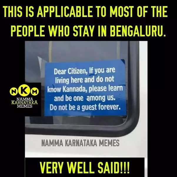 main qimg ab84e192c026a2eaaae925f5ef9fef43 can you live in bengaluru without knowing kannada? quora