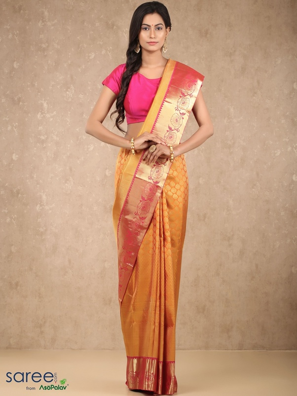 329f469c6ef28 These majestic sarees are known globally for their luxurious appeal. Woven  in the Kancheepuram town of southern India