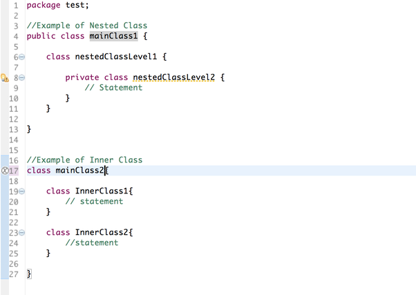 What is the difference between an inner class and a nested class in Java? -  Quora