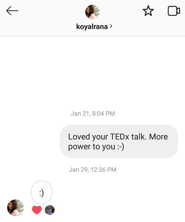 Do you usually reply to random texts on Instagram? - Quora