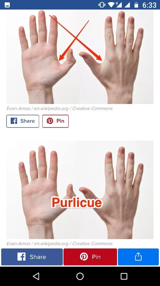 What is the space between two fingers called? - Quora