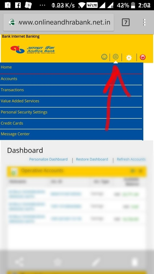 How to get an e-statement from Andhra Bank net banking - Quora