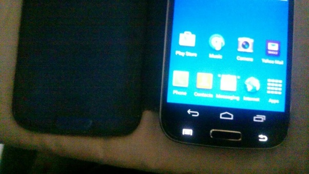 Is there an alternative to the back button on the Galaxy S3