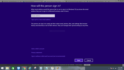Every time I turn on my Windows 10 PC, I get a popup window