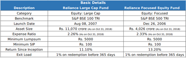 reliance large cap fund