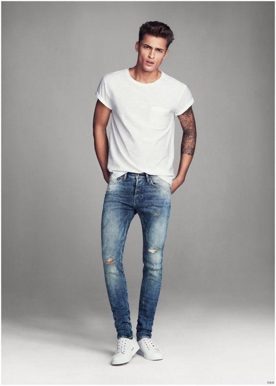Pin by Dean Marsh on Mens Skinny Jeans   Street wear, Skinny, Skinny jeans