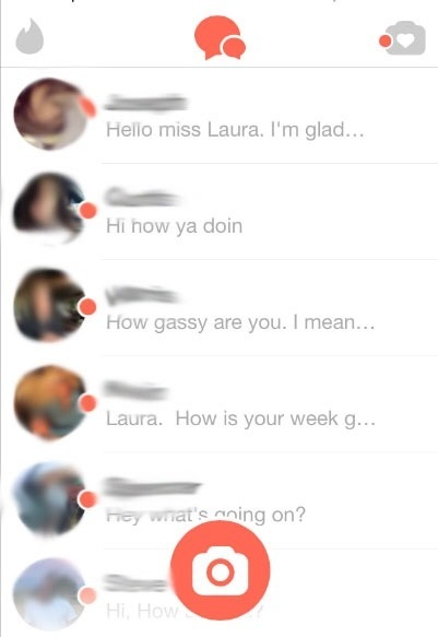 Ever seen what women go through on dating apps like Tinder?