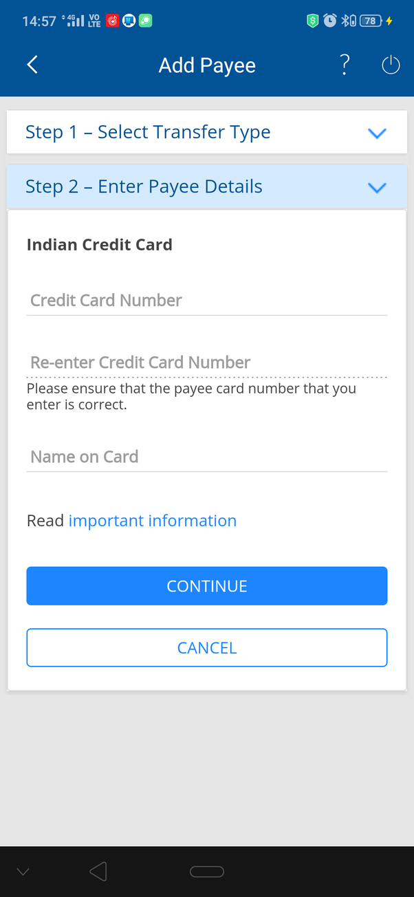 icici credit card bill details online
