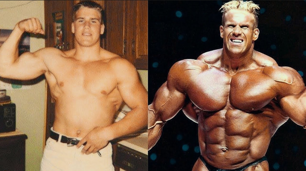 Would you say that good genetics or steroids usage is the single