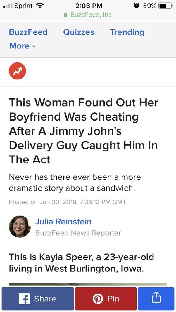 Cheating My Girlfriend Girl