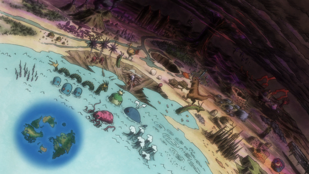 How big is the Dark Continent in Hunter x Hunter?   Quora