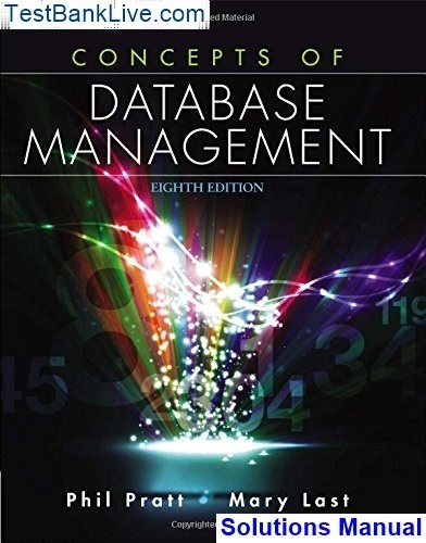 Database systems the complete book solution manual pdf.