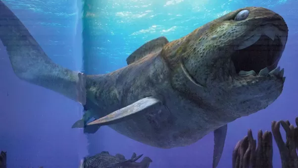 which prehistoric marine predator would win in a fight dunkleosteus