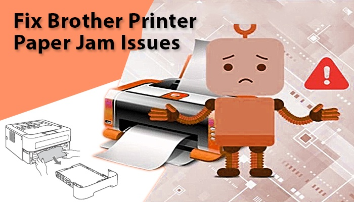 Image result for brother printer paper jam issue