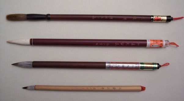 Did pens or pencils exist in China/East Asia before the ...