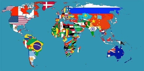 What are some interesting maps of the world maps depicting flag map of the world gumiabroncs Choice Image