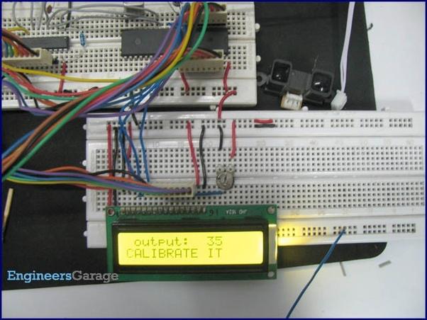 How to write a program for an external distance sensors