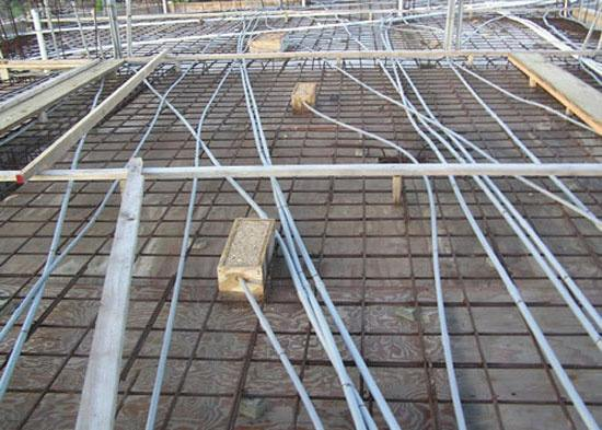 Whether The Electrical Pvc Conduits Be Placed Under Or