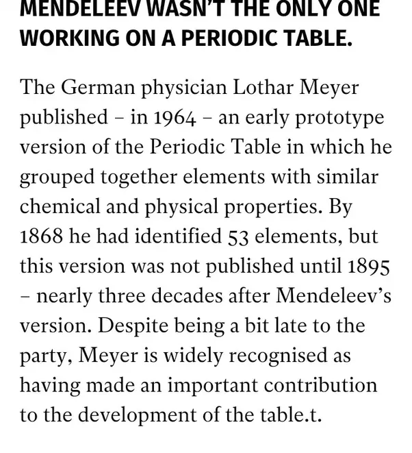 What Are Unknown Facts About Periodic Table Quora