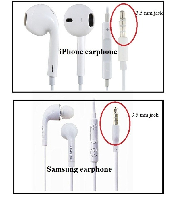 Is it bad to use Samsung earphones with my iPhone?