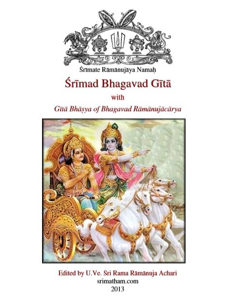Which English translation of Bhagawad Gita is considered the