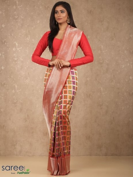 Which silk saree is best for marriage? - Quora