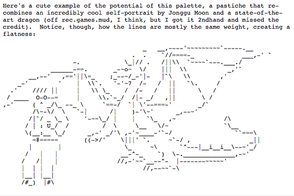 What exactly is ascii art and where can i find some good examples the history of ascii art in brief hope this answer helped ccuart Image collections
