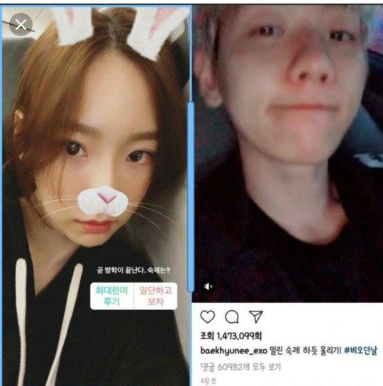 baekhyun exo dan taeyeon snsd dating tunezyjska kultura randkowa