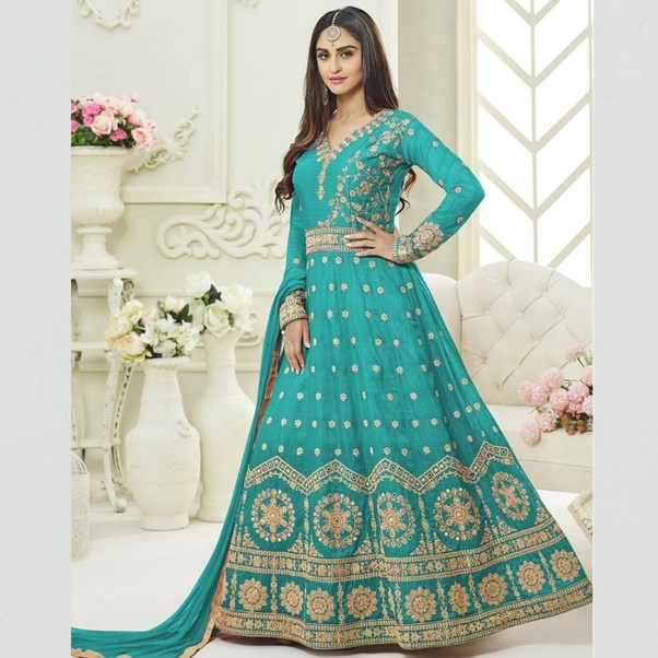 fc42dfa49b Bollywood Style Salwar Suits: In India, The most style of salwar suits is  Bollywood style salwar suit. This is the most wearable attire for ladies.