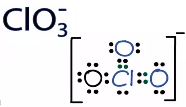 What Is The Lewis Dot Diagram For Clo3 Quora