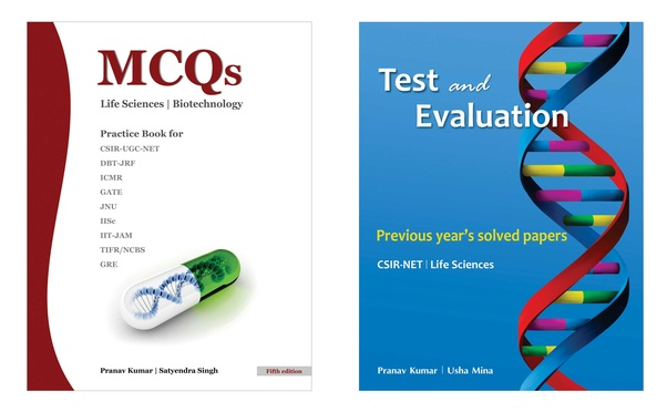 Can you recommend some good MCQ books to practice for CSIR