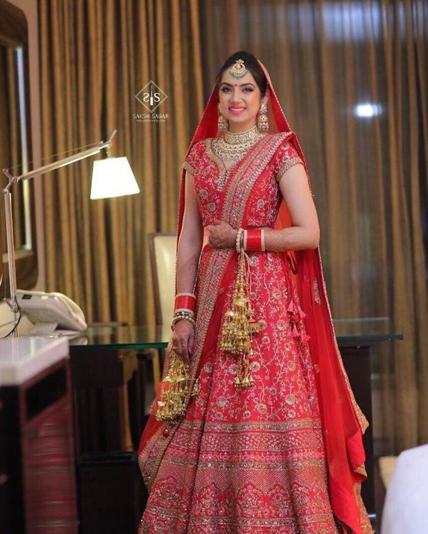 c04c55437890 Where can I find the best designer bridal lehengas in India? - Quora
