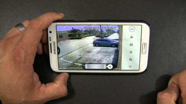 How To Connect A Cctv Camera To A Mobile Phone Quora