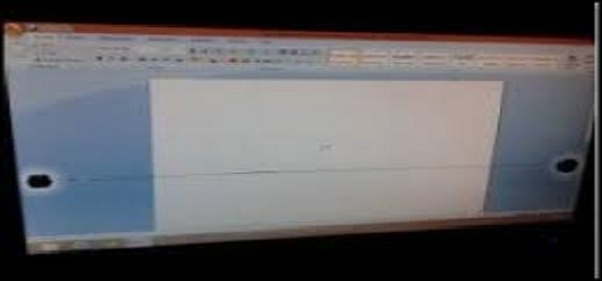 black screen on laptop
