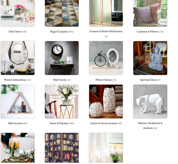 Home Decor Items Buy Online: I Want To Buy Some Home Decor Articles To Make My Home