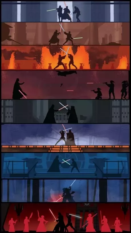 Which Is The Best Lightsaber Fight In All Of Star Wars Quora