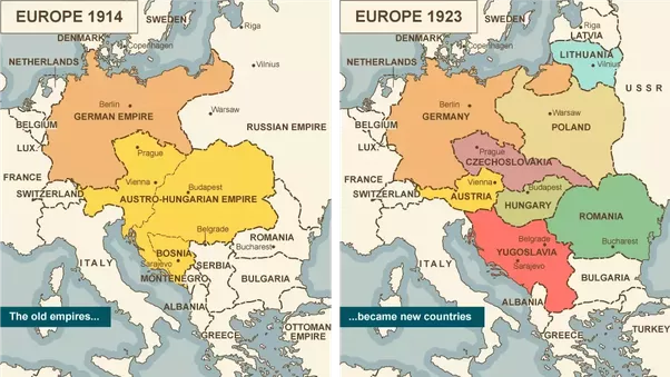 To what extent if any was poland responsible for the start of world image from bbc and the demographic map of pre wwii poland gumiabroncs Images