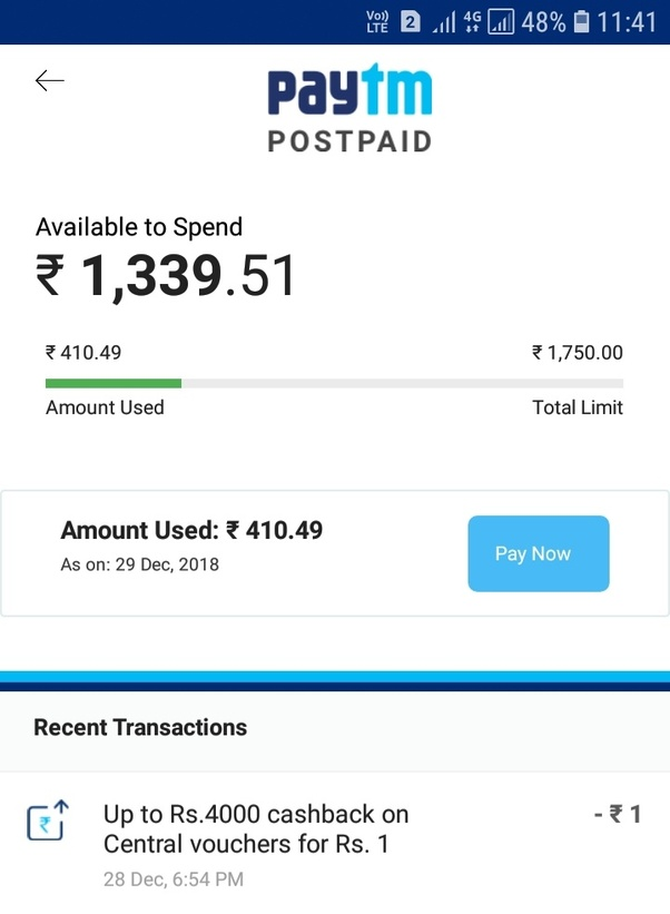 Is Paytm postpaid? - Quora