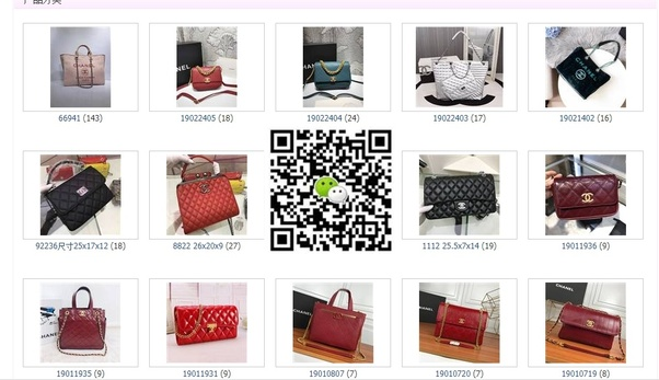 338bc05ea154 Scan the QR code if you are interesting in these replica handbags .