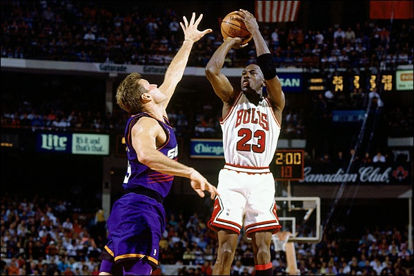 What were Michael Jordan's weaknesses as a basketball player